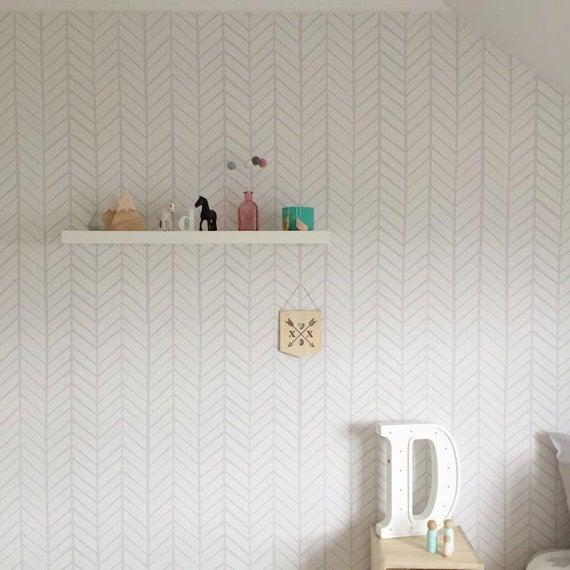 removable wallpaper herringbone wallpaper wallpaper. Black Bedroom Furniture Sets. Home Design Ideas