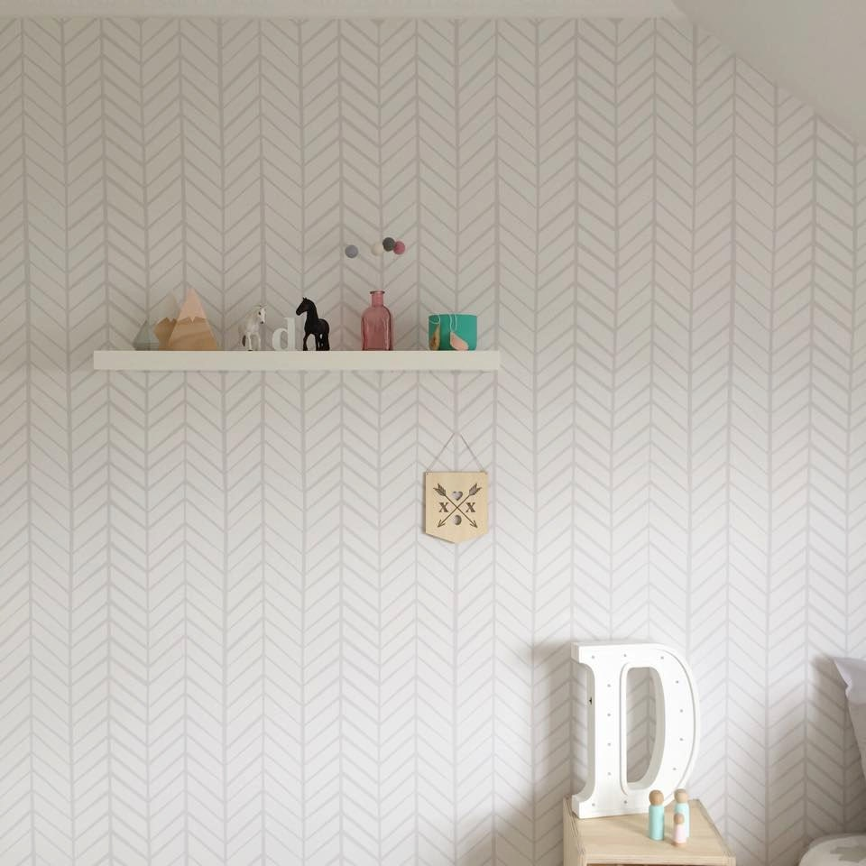 Removable Wallpaper Herringbone Wallpaper Wallpaper