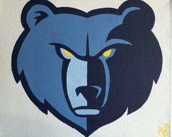 Memphis Grizzlies Painting