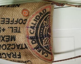 Cafe De Calidad Mexican Coffee Bag Purse