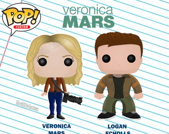 Veronica Mars & Logan Echolls Funko POP! Custom