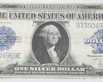 1923 U.S. 1 Dollar Silver Certificate