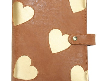 A5 LovedbyGaby planner hearts