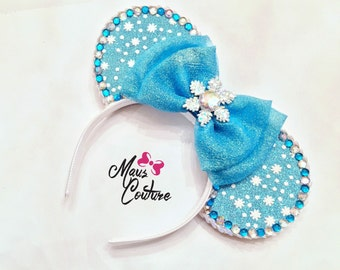 Frozen Elsa Minnie Ears