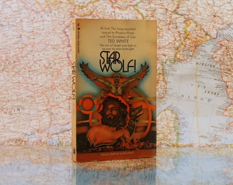 Star Wolf - Ted White - Sorceress of Qar - Lancer Book - Sci-Fi - Vintage Paperbacks - Vintage Book - Science Fiction - 1971