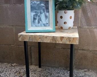 dresser, wooden dresser, a small table