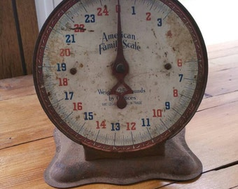 Vintage American Family Scale