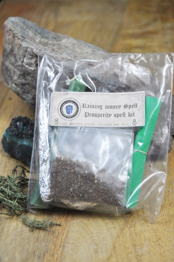 Basket Weaving Supplies Phoenix Az : Money prosperity spell kit with handmade incense blend