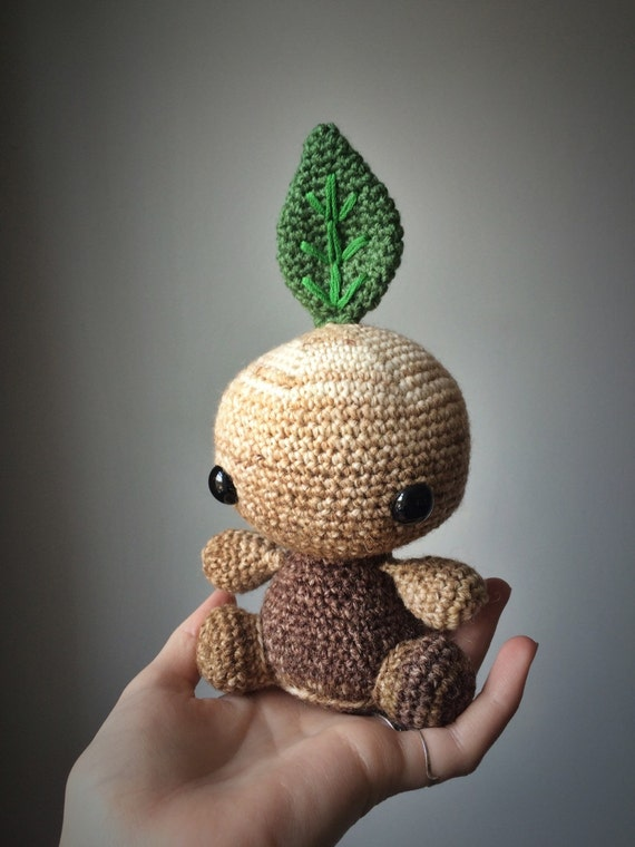 Mandragora // Mandrake amigurumi crochet toy by TheStitchTower