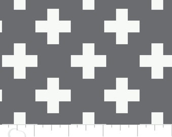 Swiss Cross Fabric - Nordic Collection - Camelot Fabrics - Quilting Cotton - Fabric by the Yard - Quilting Fabric - 100% Cotton