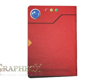 Fan-made Pokemon Pokedex inspired personalized journal notebook