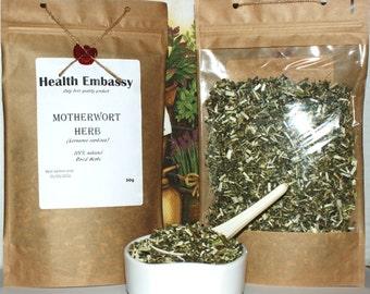 Motherwort Herb (Leonurus cardiaca) 50g - Health Embassy - Organic