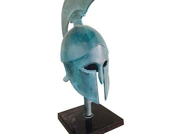 Bronze Ancient Greek Corinthian Helmet