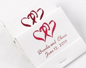 Personalized Wedding Matchbbooks Wedding Favors Matches