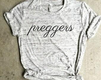 preggers shirt, pregnancy announcement shirt, mom life, pregnant shirt, mom shirt, preggo, pregnant shirt