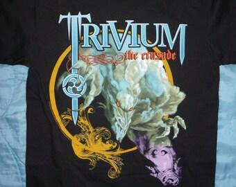 "Trivium-""the crusade"" tour t.shirt-size M-Iron Maiden,Metallica"