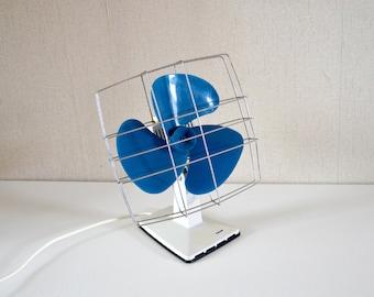 Vintage table fan CALOR / oscillating fan made in France