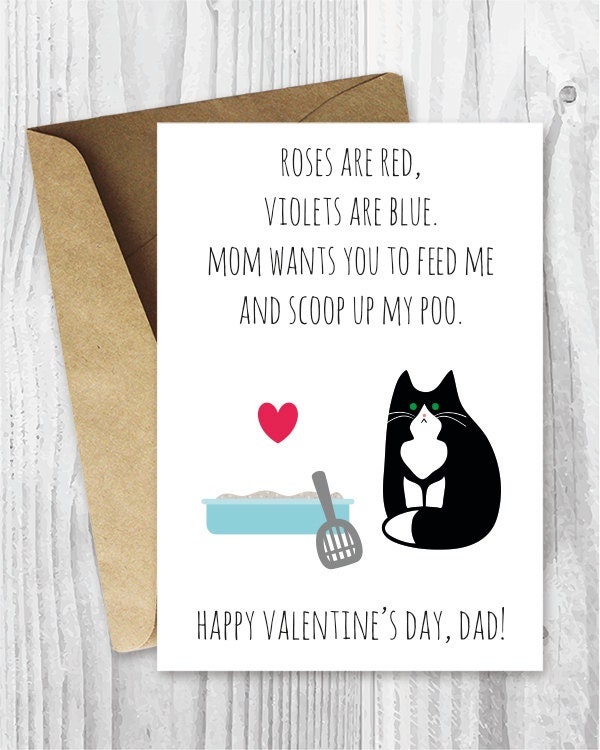 Cat valentines card – Cat Valentine Card