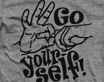 Go F*ck Yourself! Fingers Tee Shirt