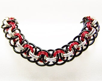 Chicago Bulls Bracelet, Basketball Jewelry, Basketball Bracelet,  NBA Jewelry, NBA Bracelet