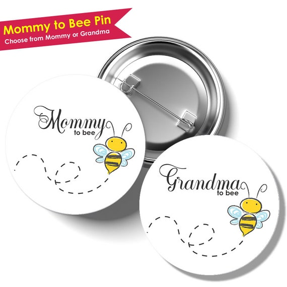 mommy to bee pin bumble bee baby shower decorations baby shower pins