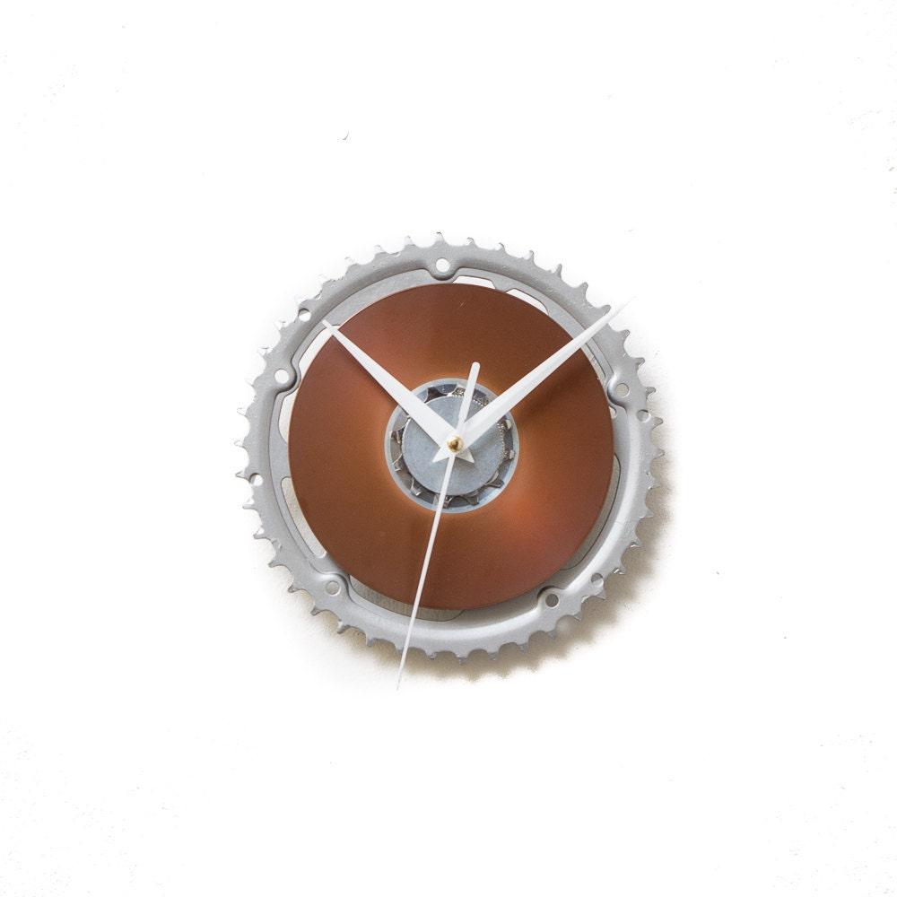 Unique Wall Clock Bicycle Clock Sprocket Clock By Clocklight