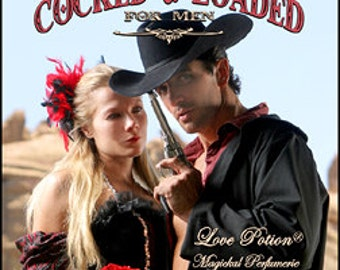 Cocked & Loaded - for Men - Original Handcrafted Fragrance - 1/3 fl.oz. - Love Potion Magickal Perfumerie