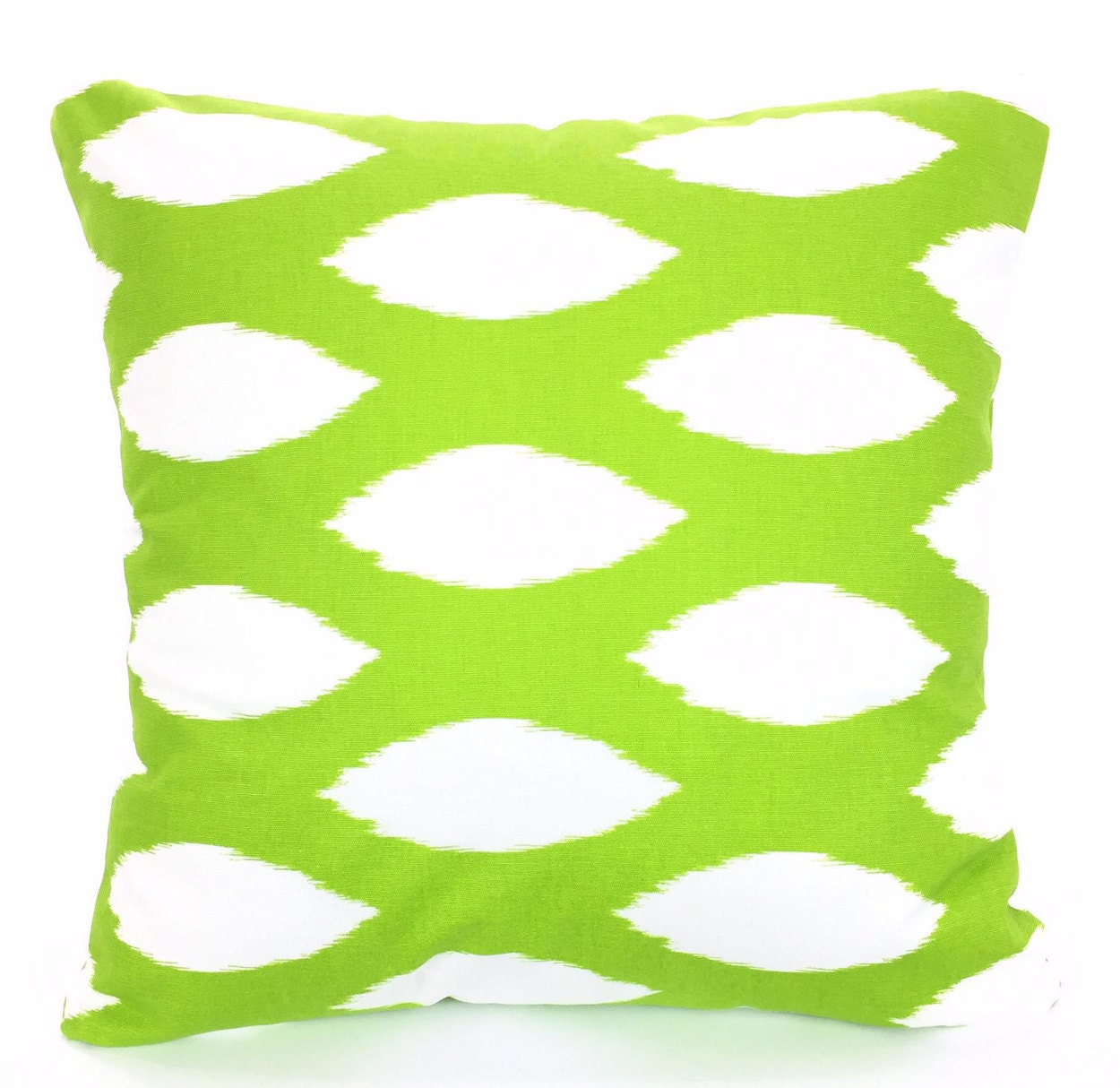 Green Pillow Covers Decorative Pillows by PillowCushionCovers
