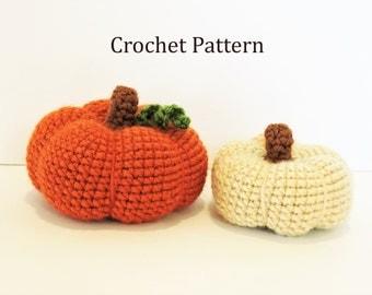 Crochet Pumpkin Pattern, Pumpkin Pattern PDF, Pumpkin Amigurumi Pattern, Fall Crochet Pattern, Halloween Crochet, Crochet Pumpkins, Tutorial