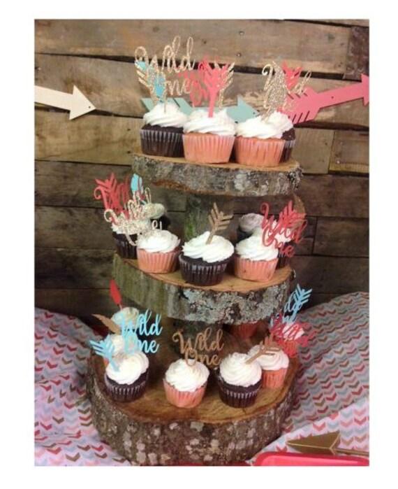 Wild One Birthday Cake Topper First Birthday Tribal Birthday