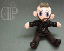 Ragnar Lothbrok The Vikings Doll Plushie Toy Travis Fimmel