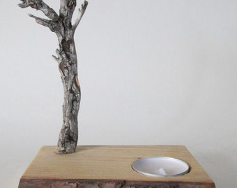 Wintertree Candle Holder, Tree Candle Holder, Eco Candle Holder