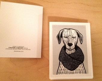 Creature Comforts Notecards