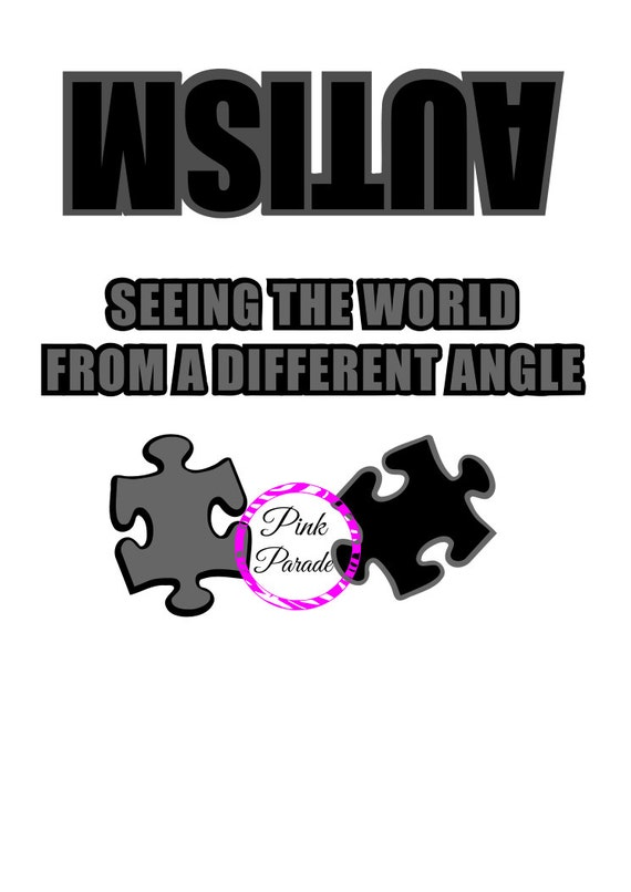 Autism seeing the world from a different angle svg for A different angle salon