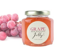 Gourmet Pink Reliance Grape / Jelly // All Natural // New Hampshire Home Grown // 6 oz