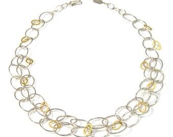 Full Mixed Cascade Necklace