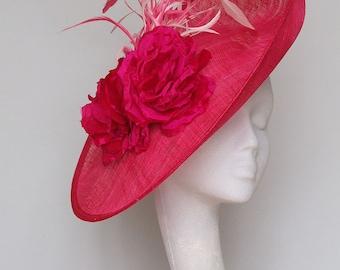 Pink Fascinator Royal Ascot Hat