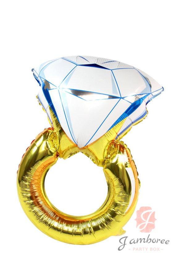 32 ring balloon engagement ring balloon gold