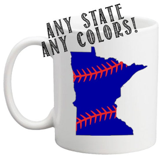 State Baseball | Team Spirit Mug | 11 oz.