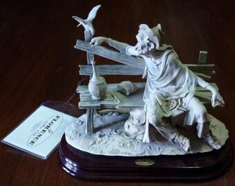 Scultura artistica capodimonte Florence sculture d'arte di Giuseppe Armani in ceramica made in italy