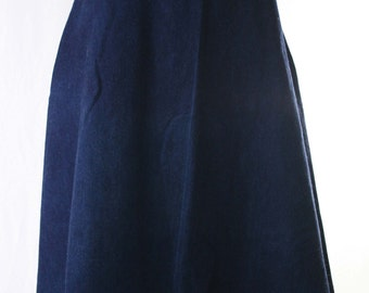 90s denim skirt