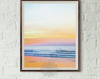 Ocean print, beach print, Ocean Water Print, Coastal Wall Art, Wall Art, Coastal, Printable Art, beach art print, art, water art, modern art