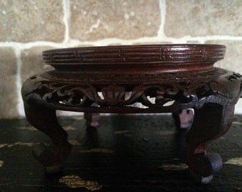 Candle Holder,Wooden Holder,Chinese Carving,Chinese Art