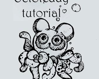 Crochet Octoteddy tutorial.