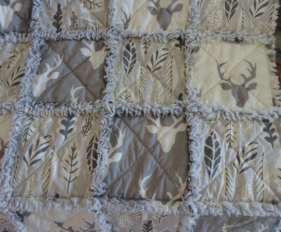 how to stop a rag quilt from fraying
