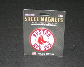 MLB Boston Red Sox Steel Magnet