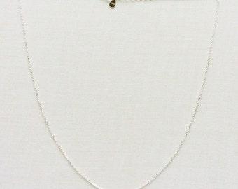 Tiny Solitarie CZ Diamond Necklace - Minimalist Jewelry - Bezel Set Necklace - Tiny Silver Necklace - Tiny CZ Diamond Necklace