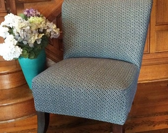 Armless Chair Cover Etsy