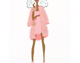 Fashion illustration... Fashion sketch... Fashion art