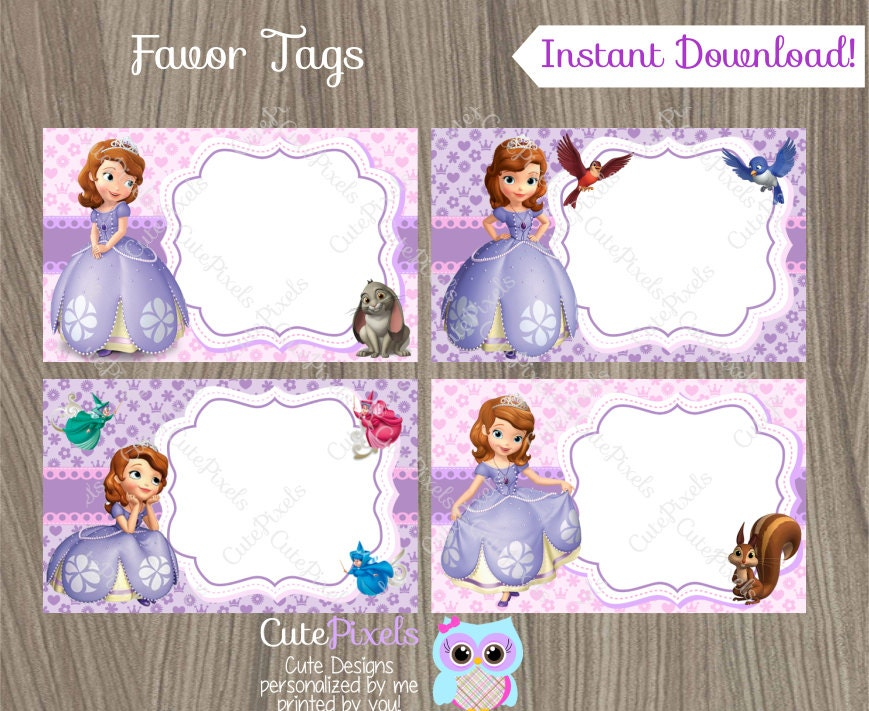 Name Tags Design For Girls Popular Items Princess Tag On Etsy